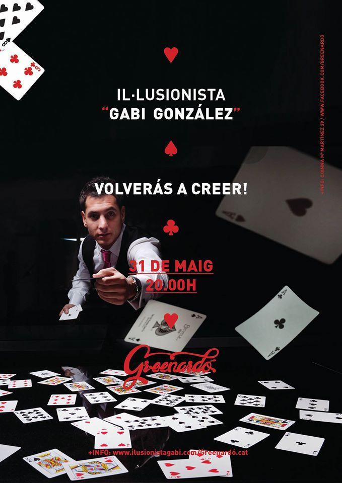 GABI GONZALEZ - ILUSIONISTA