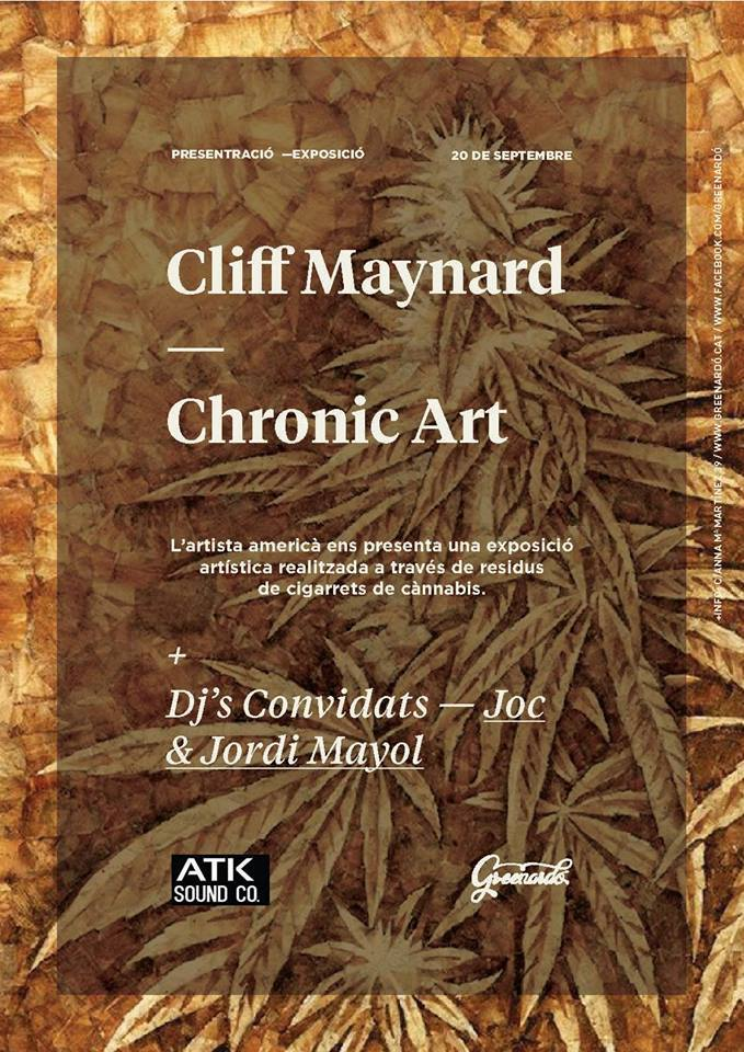 CHRONIC ART - ROACH PAPER BY CLIFF MAYNARD